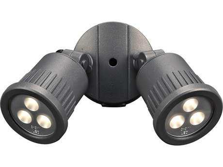 PLC Lighting Ledra Two-Light LED Outdoor Wall Light