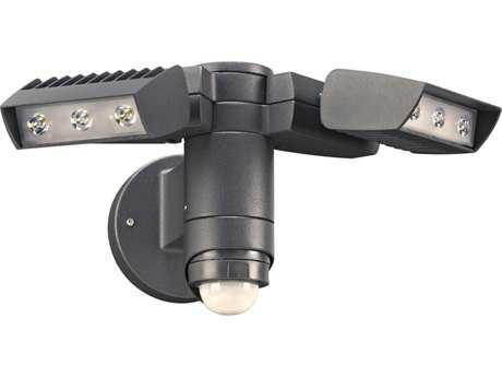 PLC Lighting Zonyx Bronze LED Outdoor Wall Light