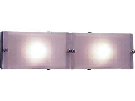 PLC Lighting Gem Polished Brass Two-Light Halogen Wall Sconce (Sold in 2)