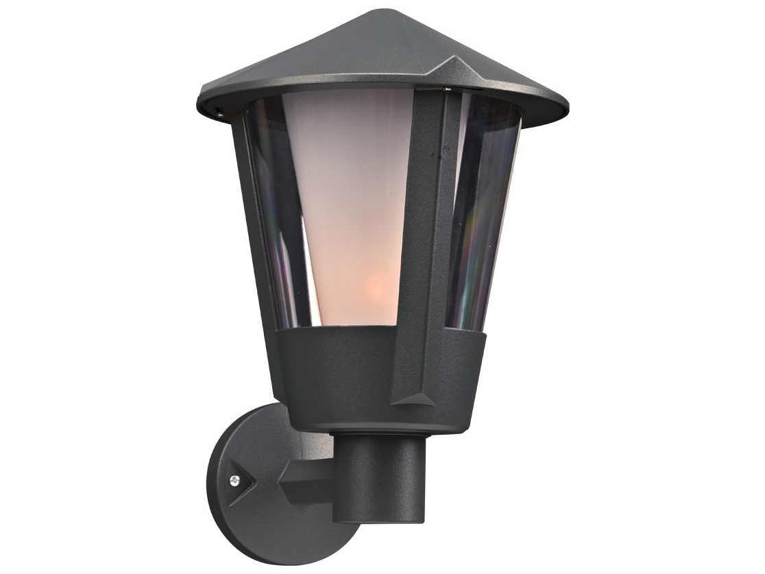 Fluorescent Exterior Wall Lights : PLC Lighting Silva Bronze Fluorescent-GU24 Outdoor Wall Light PLC1886BZ118GU24