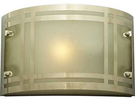 PLC Lighting Oslo Polished Chrome Fluorescent-Quad18 Outdoor Wall Light (Sold in 2)