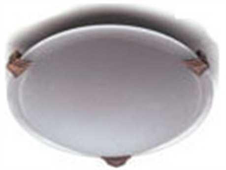 PLC Lighting Valencia 20'' Wide Two-Light Fluorescent-Quad26 Flush Mount Light