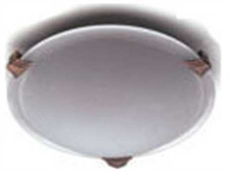 PLC Lighting Valencia 8'' Wide Fluorescent-PL5 Flush Mount Light (Sold in 2)