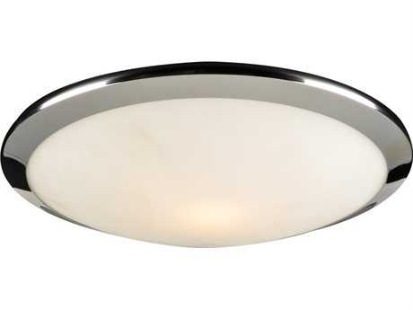 PLC Lighting Preston Polished Chrome 12'' Wide Incandescent Flush Mount Light (Sold in 2)