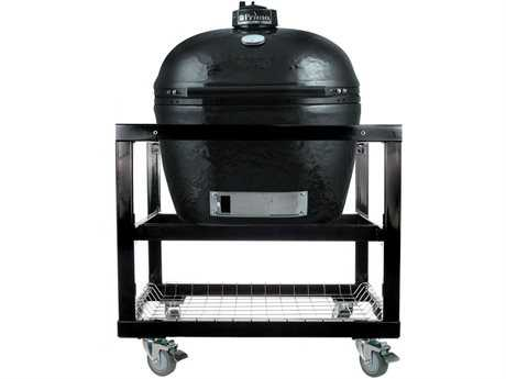 Primo Oval (300) Large Stainless Steel Smoker in Cart