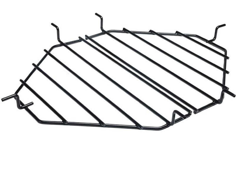 2 pcs. Heat Deflector Rack//Drip Pan Rack Oval LG 300 by Primo Ceramic Grills