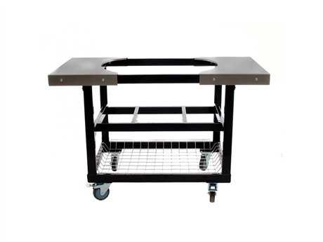 Primo Cart with Basket w/SS Side Shelves Oval JR 200 PatioLiving