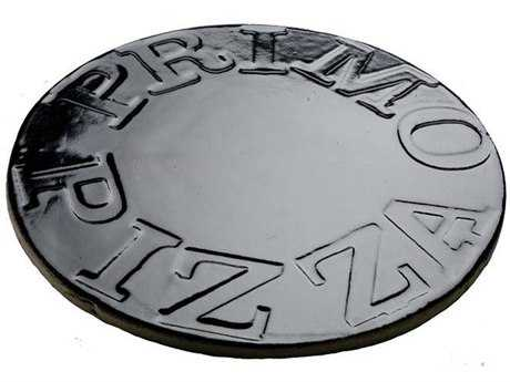 Primo 13'' Glazed Ceramic Baking Stone for XL 400  LG 300  JR 200  Kamado (#340)