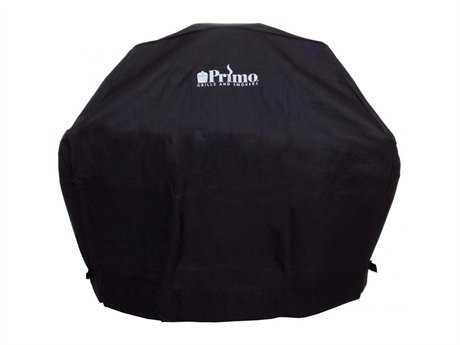 Primo Grill Cover Oval JR 200 in Cradle
