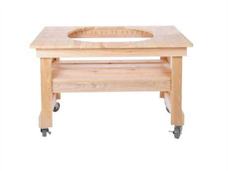 Primo Cypress Oval XL 400 Wood Table Compact