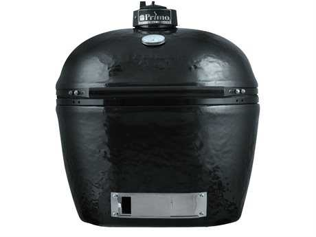 Primo Oval XL Large 400 Ceramic Grill Smoker PatioLiving