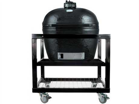 Primo Oval (400) XL Ceramic Smoker In Steel Cart PatioLiving