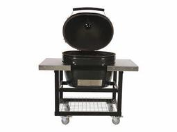 Jack Daniels Oval (400) XL in Stainless Steel Cart