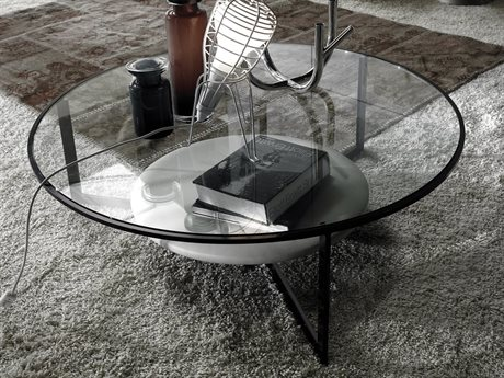 Prianera Tribas 39.37'' x 39.37'' Coffee Table With Shelf