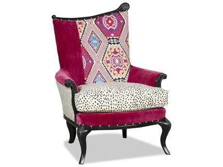 Paul Robert Ida Black 5 Accent Chair