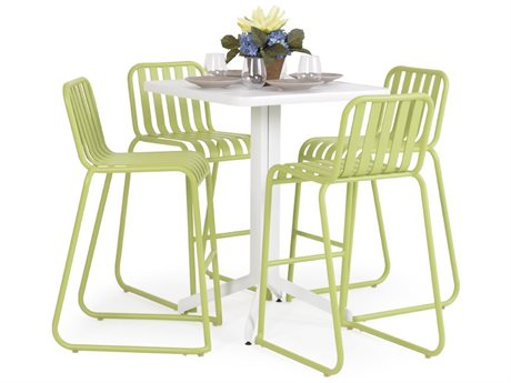 Palm Springs Rattan 0100 Series Aluminum Bar Set