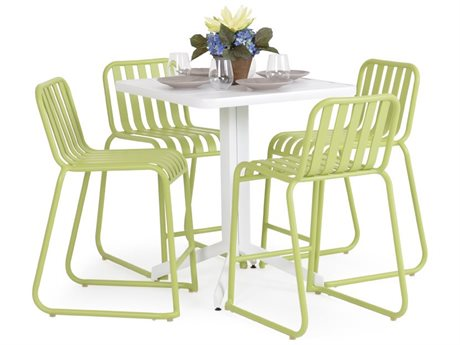 Palm Springs Rattan 0100 Series Aluminum Counter Set