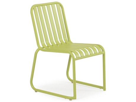 Palm Springs Rattan 0100 Series Aluminum Stackable Dining Side Chair PS0111