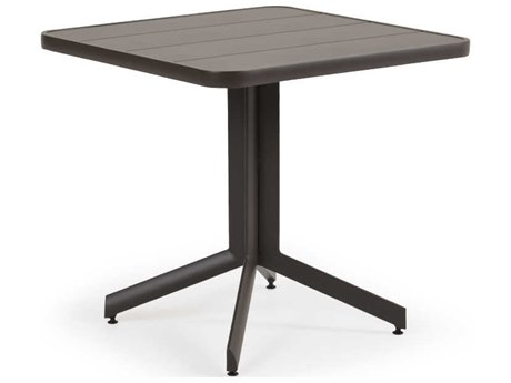 Palm Springs Rattan 0100 Series Aluminum 29.25 Square Pedestal Table
