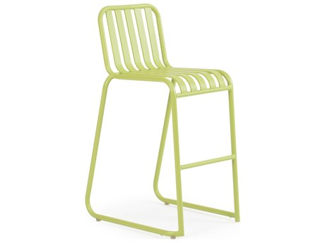 Palm Springs Rattan 0100 Series Aluminum Bar Height Stool