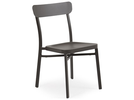 Palm Springs Rattan 0200 Series Aluminum Stackable Dining Side Chair