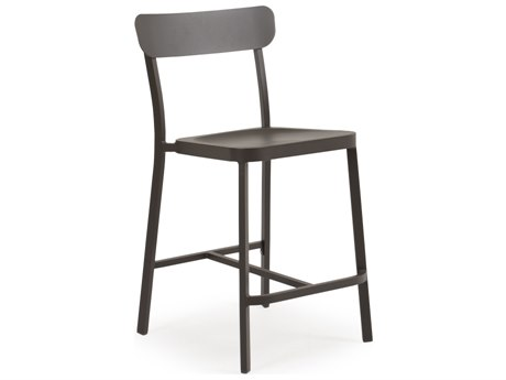 Palm Springs Rattan 0200 Series Aluminum Counter Height Stool