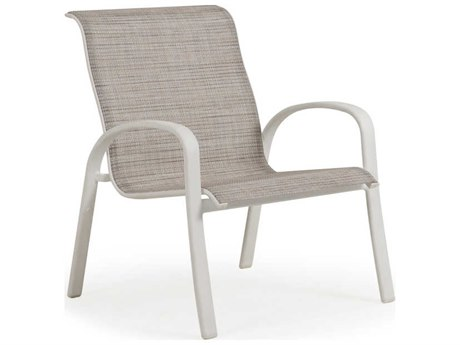 Palm Springs Rattan Sandoval Aluminum Sling Lounge Chair