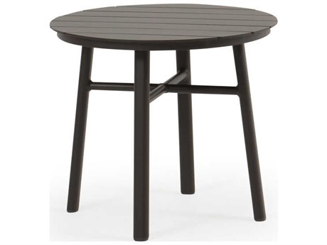 Palm Springs Rattan Sandoval Aluminum 20Wide Round Slat Table Top