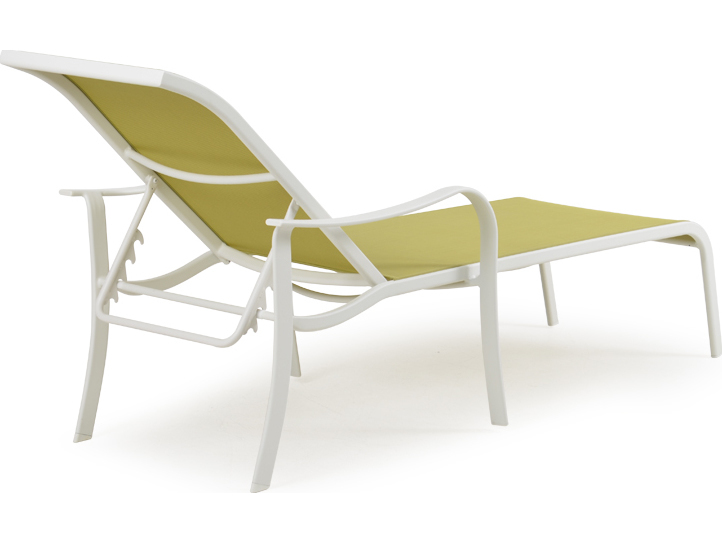 Palm springs rattan 1400 series chaise lounge w arms ps1409 for Chaise serie 7