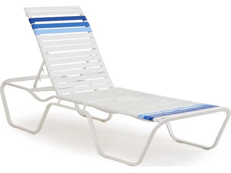 Palm Springs Rattan Aluminum 1600 Series Chaise Lounge PS1609R