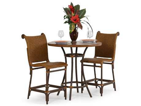 Palm Springs Rattan Aluminum 2400 Series Counter Height Set PS2400SET1