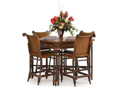Palm Springs Rattan Aluminum 2400 Series Counter Dining Set PS2400SET3