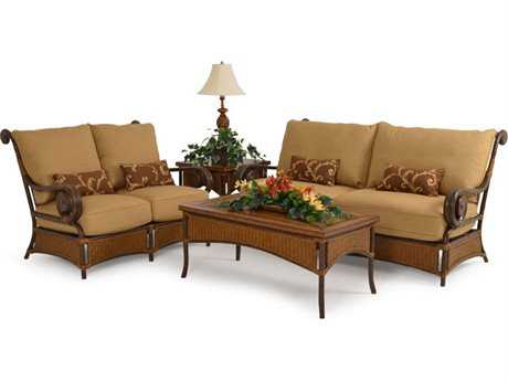 Palm Springs Rattan Aluminum 2400 Series Lounge Set