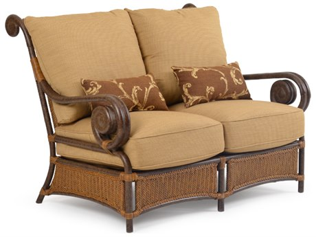 Palm Springs Rattan Aluminum 2400 Series Deep Seating Loveseat
