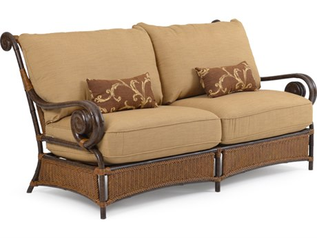 Palm Springs Rattan Aluminum 2400 Series Deep Seating Sofa