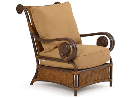Palm Springs Rattan Aluminum 2400 Series Deep Seating Lounge Chair