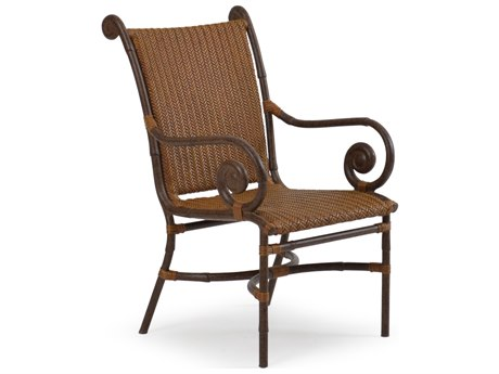 Palm Springs Rattan Aluminum 2400 Series Dining Arm Chair