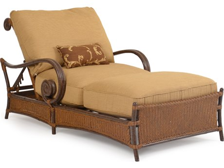 Palm Springs Rattan Aluminum 2400 Series Chaise and a Half PS2418