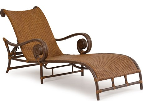 Palm Springs Rattan Aluminum 2400 Series Chaise and a Half PS2419