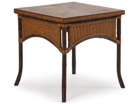 Palm Springs Rattan Aluminum 2400 Series 24 Square End Table PS2420