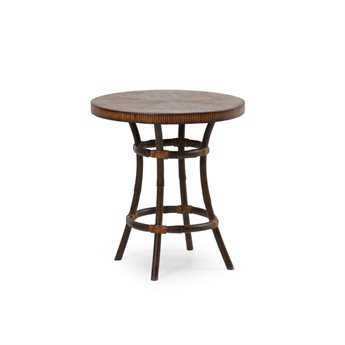 Palm Springs Rattan Aluminum 2400 Series 22 Round Tea Table