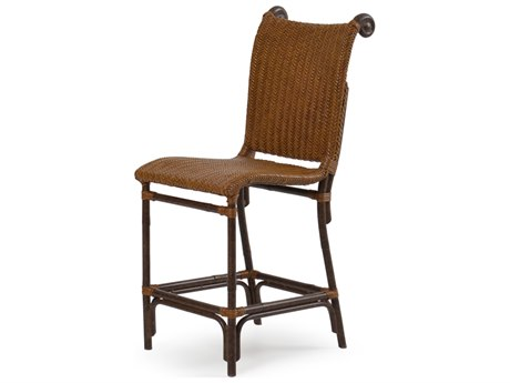 Palm Springs Rattan Aluminum 2400 Series Counter Height Stool
