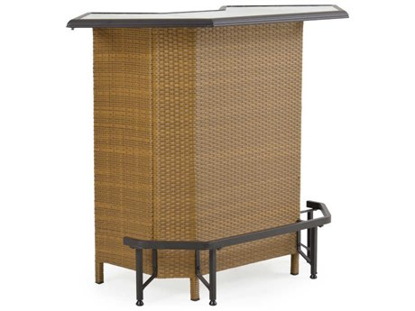 Palm Springs Rattan Aluminum 3200 Series Party Bar PatioLiving