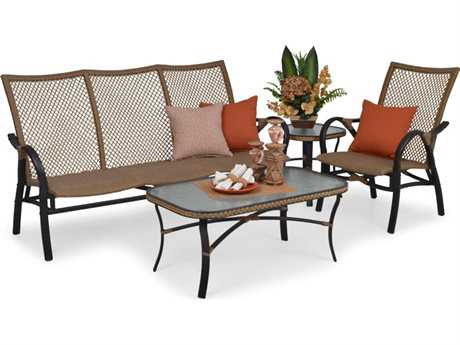 Palm Springs Rattan Aluminum 3200 Series Lounge Set