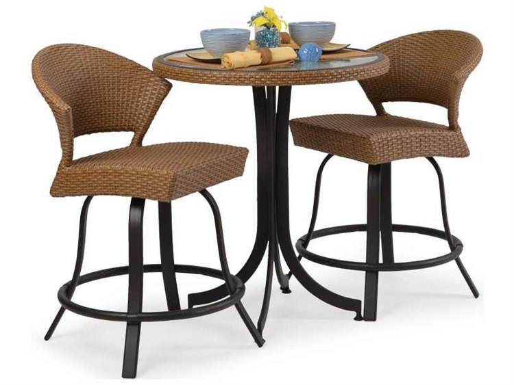 Palm Springs Rattan Aluminum 3200 Series Counter Height