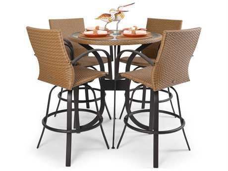 Palm Springs Rattan Aluminum 3200 Series Bar Set PS3200SET6