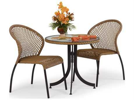 Palm Springs Rattan Aluminum 3200 Series Dining Set PS3200SET8