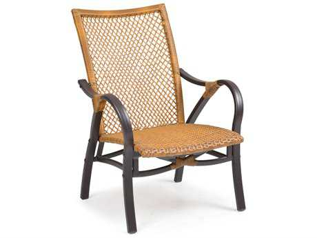 Palm Springs Rattan Aluminum 3200 Series Lounge Chair