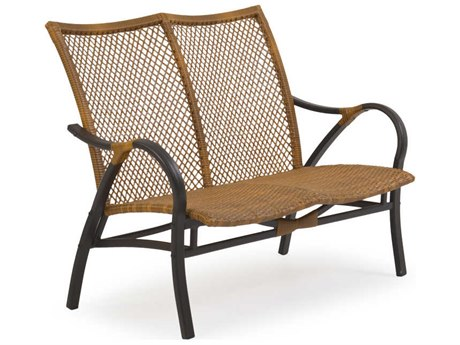 Palm Springs Rattan Cape Town Aluminum Loveseat PatioLiving