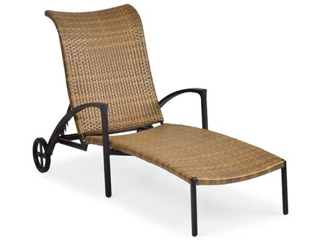 Palm Springs Rattan Cape Town Aluminum Chaise Lounge PatioLiving